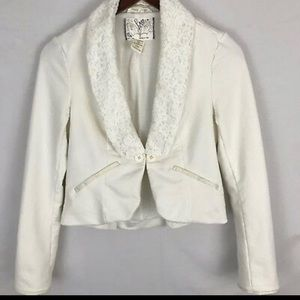 Free People  Cropped Blazer Jacket